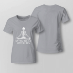 Funy - Eff you see kay. Whuy oh you Ladies T shirt