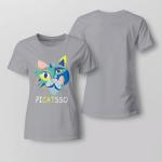 Funny - Picatsso Ladies T shirt
