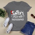 Santa's Favorite Photographer T shirt