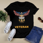 United States Navy American Eagle Veteran T shirt