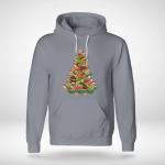 Christmas - Turlte Tree Hoodie