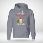 Chrismas - Baby First ... On The Inside Hoodie