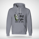 Funny - I'm a math and coffee kind of girl Hoodie