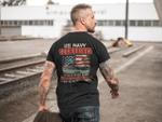 U.S Navy Submarines Back T shirt