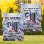 20th Anniversary - We will never forger Flag