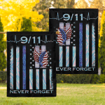 9/11 Never forget Flag