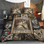 Skull - You and me - We got this  Bedding set