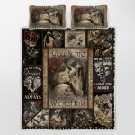 Skull - You and me - We got this Quilt Bed Set
