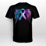 Suicide Awareness Wing BackT shirt