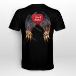 Suicide awareness  - You matter wing and heart BackT shirt