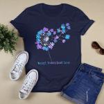 Autism awareness - Accept. Understand. Love T shirt