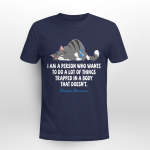 Diabetes awareness - I am a person who wants to do a lot of things trapped in a body that doesn't T shirt