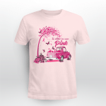 BC - In october we wear pink T shirt