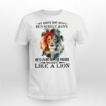 God - Like a lion T shirt