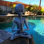 50% OFF-MEDITATING ALIEN