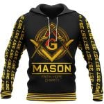 Mason Faith Hope Chartity - Freemasonry t-shirt and hoodie All-Over-Print