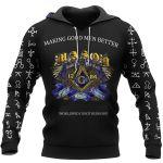Making Good Men Better - Freemasonry t-shirt and hoodie All-Over-Print