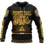 Worldwide Brotherhood - Prince Hall 357 -Freemasonry t-shirt and hoodie All-Over-Print