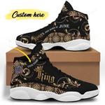 June King of Jordan 13 Sneaker HTM-007
