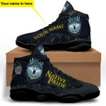 Wolf Native Pride Black Jordan 13 Sneaker