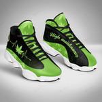 420 Weed 4 Jordan 13 Sneaker