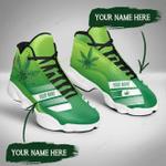 420 Weed 14 Jordan 13 Sneaker