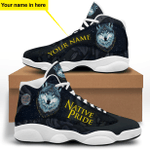 Wolf Native Pride White Jordan 13 Sneaker