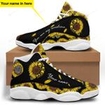 Skull Rabbit Sunshine Jordan 13 Sneaker