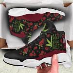 420 Weed 2 Jordan 13 Sneaker