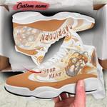 Capricorn Orange Jordan 13 Sneaker