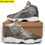Wolf Native America Jordan 13 Sneaker