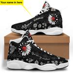 Daisy Flower Rabbit Sunshine Jordan 13 Sneaker