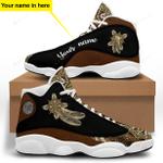 Native American Brown Jordan 13 Sneaker