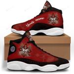 Native American Red Jordan 13 Sneaker