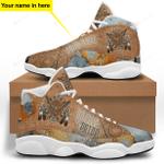 Native American DreamCatcher Jordan 13 Sneaker