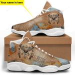 Native American Owl Jordan 13 Sneaker