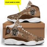 Native American Skull White Jordan 13 Sneaker