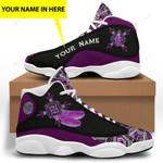 Purple Native American 1 Jordan 13 Sneaker