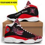 Red Native American 1 Jordan 13 Sneaker