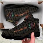 Native American Feather Jordan 13 Sneaker 1