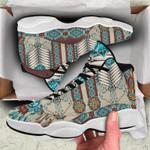 Native American Pattern Jordan 13 Sneaker