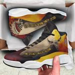 Native American Skull Jordan 13 Sneaker