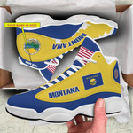 Shoes & JD 13 Sneakers - Limited Edition - Montana - U.S.A