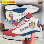 Shoes & JD 13 Sneakers - Serbia - Limited Edition ver 1