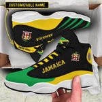 Shoes & JD 13 Sneakers - Limited Edition - Jamaica