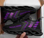 Native American Purple Sneaker 100