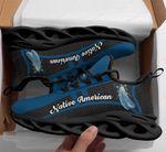 Native American Blue Sneaker 265
