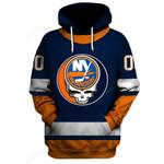 "GDNYI100 - ""Grateful New York Islanders"" Hoodie - Personalized Name & Number"