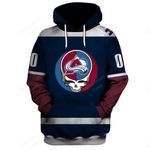 """GDCA200 - """"Grateful Colorado Avalanche"""" Hoodie - Personalized Name & Number"""