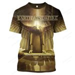 """EWAF1100 - """"Now, Then and Forever"""" T-Shirt - Personalized Name"""